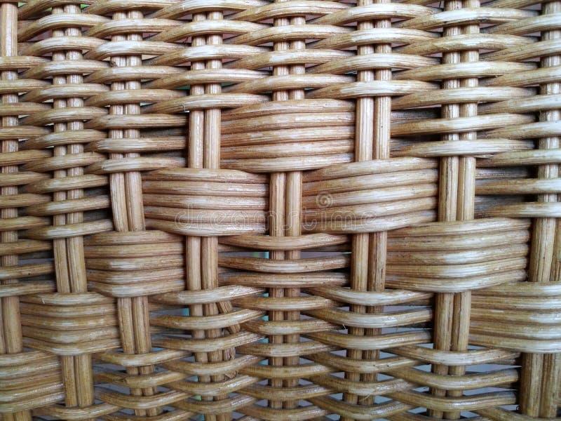 De rotan maakte van hout, wat betreft de oppervlakte van de peesrotan, royalty-vrije stock fotografie