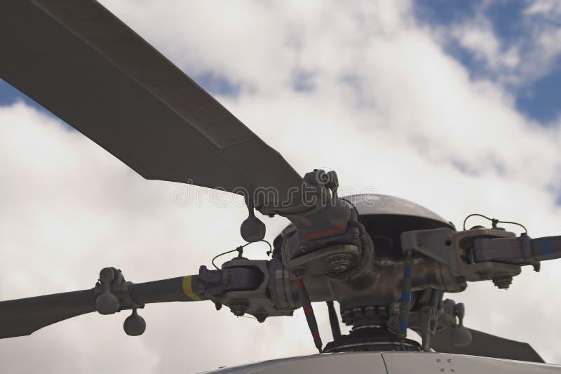 De Rotor van de helikopter stock foto