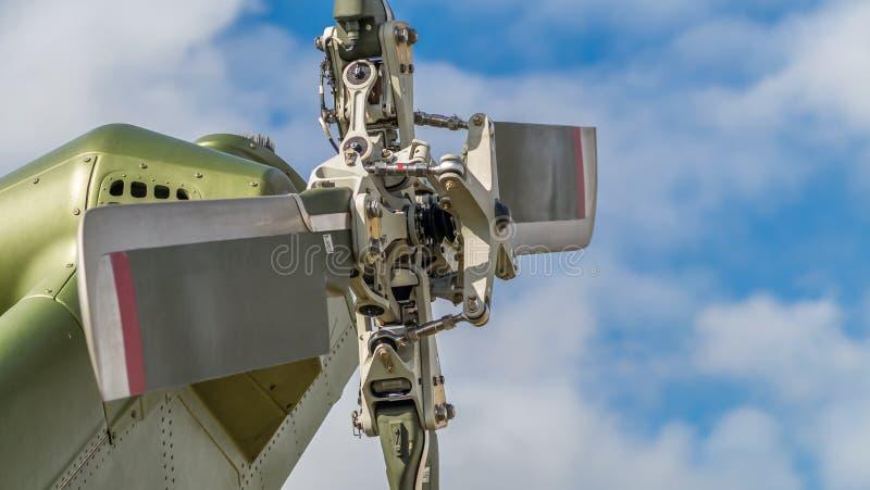 De rotor van de helikopterstaart stock foto's