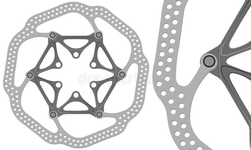 De Rotor van de schijfrem stock afbeeldingen