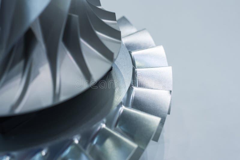 De rotor van de luchtcompressor stock foto