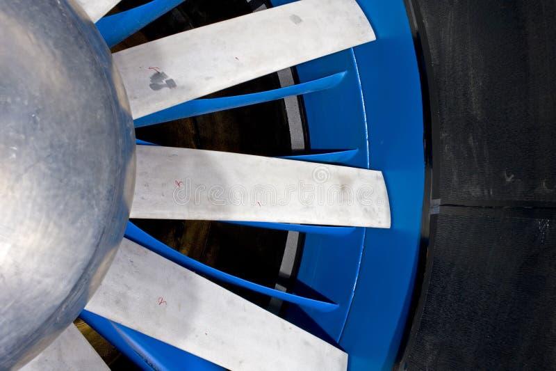 De rotor van Windtunnel royalty-vrije stock fotografie