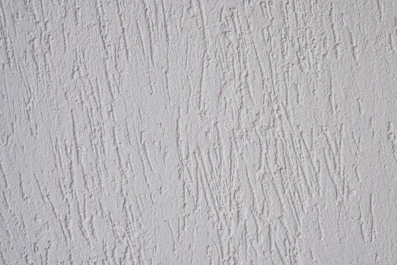 De rots gepleisterde grijze kleur van de gipspleistermuur voor textuurachtergrond stock foto