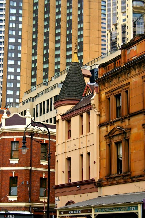 De rots, Sydney royalty-vrije stock foto's