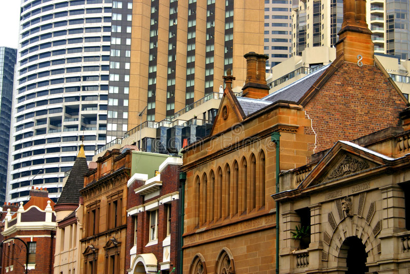 De rots, Sydney stock fotografie