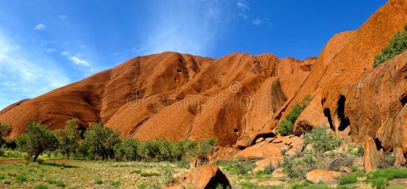 De Rots van Ayers, Noordelijk Grondgebied, Australië stock foto