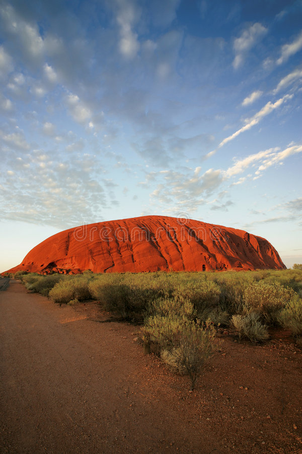 De Rots van Ayers (Uluru) XXL stock afbeelding