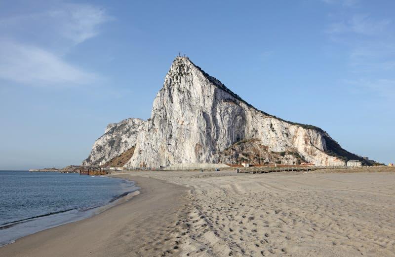 De rots van Gibraltar royalty-vrije stock foto