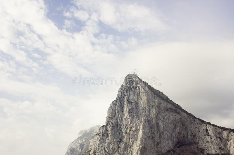 De rots van Gibraltar royalty-vrije stock afbeelding