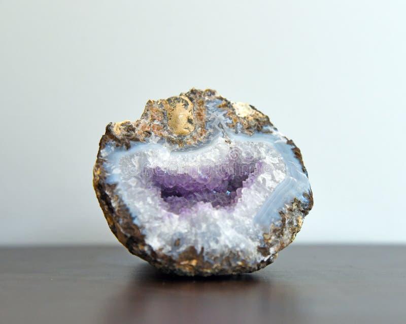 De rots van het geodeagaat stock afbeeldingen