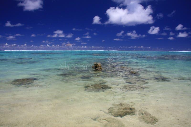 De rots van het paradijs stock foto's