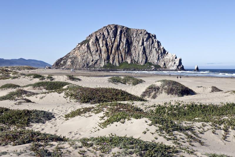 De Rots van Morro bij Morro Baai, Californië royalty-vrije stock afbeelding