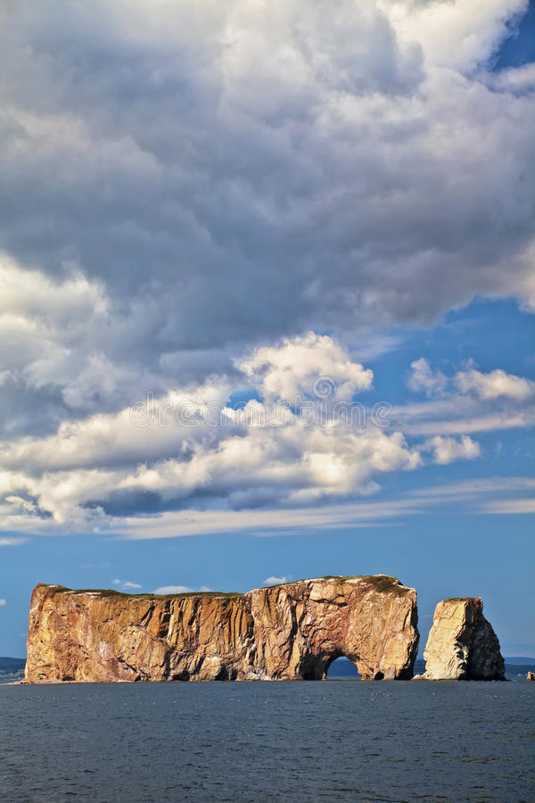 De Rots van Perce stock fotografie