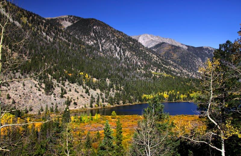 De Rotsachtige bergen van Colorado royalty-vrije stock fotografie