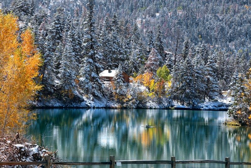 De Rotsachtige Bergen van Colorado stock afbeelding
