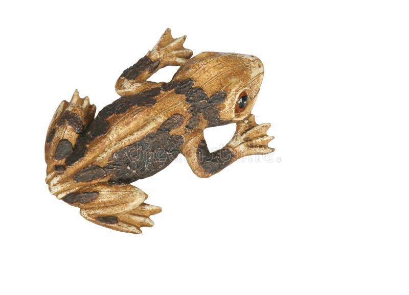 De rotsdecoratie van de kikker royalty-vrije stock fotografie