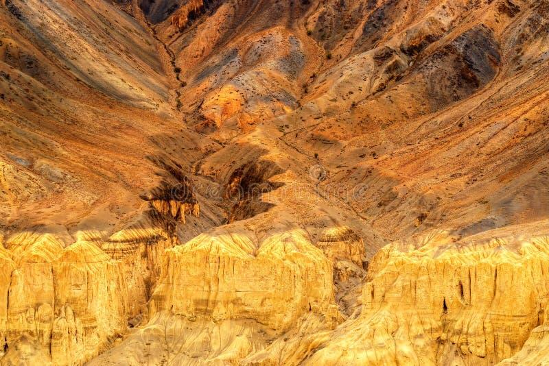Download De Rotsen En De Stenen, Bergen, Ladakh Modelleren Leh, Jammu & Kashmir, India Stock Foto - Afbeelding bestaande uit vorming, curvy: 54079520