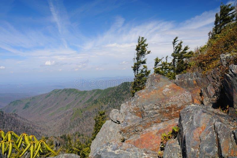 De rotsen en de Valleien vormen de Appalachian Sleep royalty-vrije stock afbeeldingen