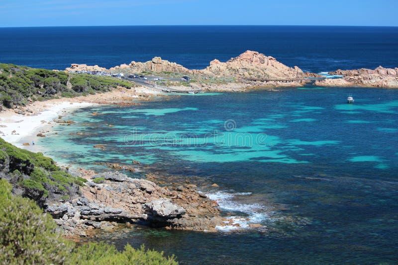 De Rotsen SW Westelijk Australië van het kanaal royalty-vrije stock fotografie
