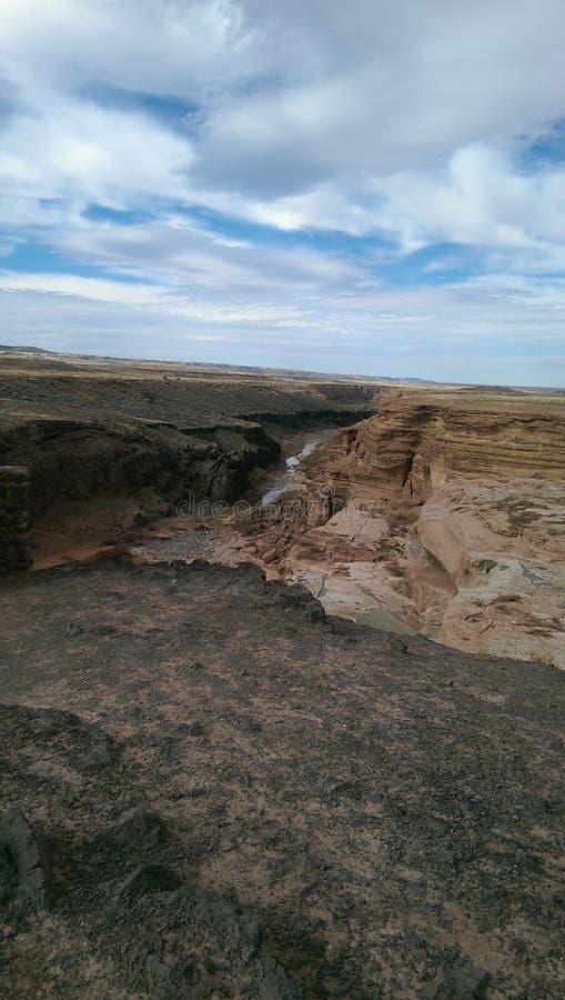 De rotsen van Arizona stock afbeelding