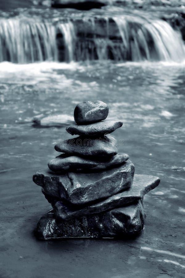 De Rotsen van de meditatie royalty-vrije stock afbeelding