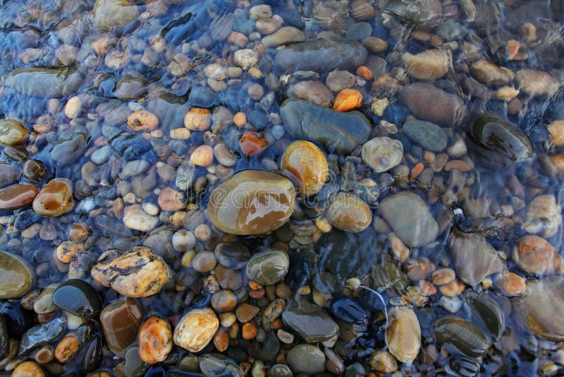De Rotsen van de rivier stock afbeeldingen