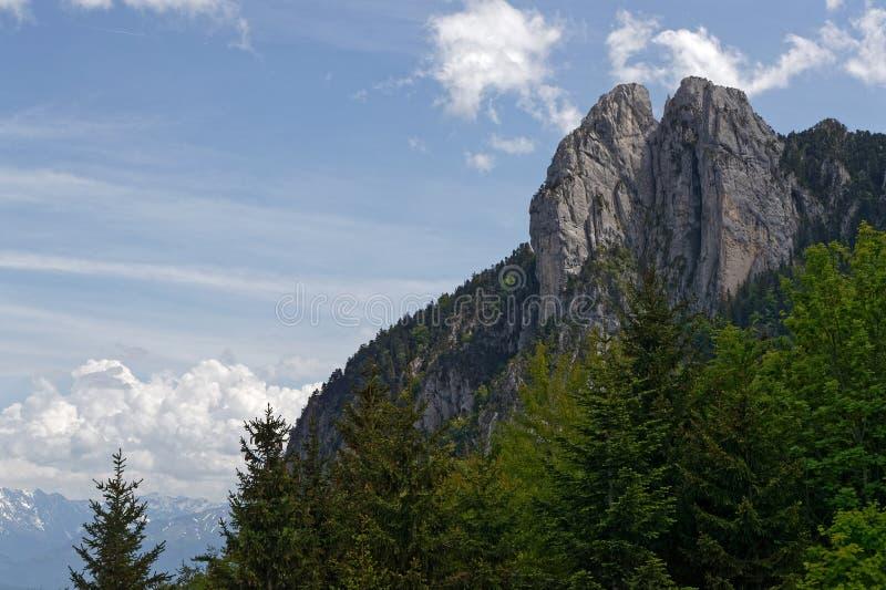 De rotsen van Trois Pucelles royalty-vrije stock afbeelding