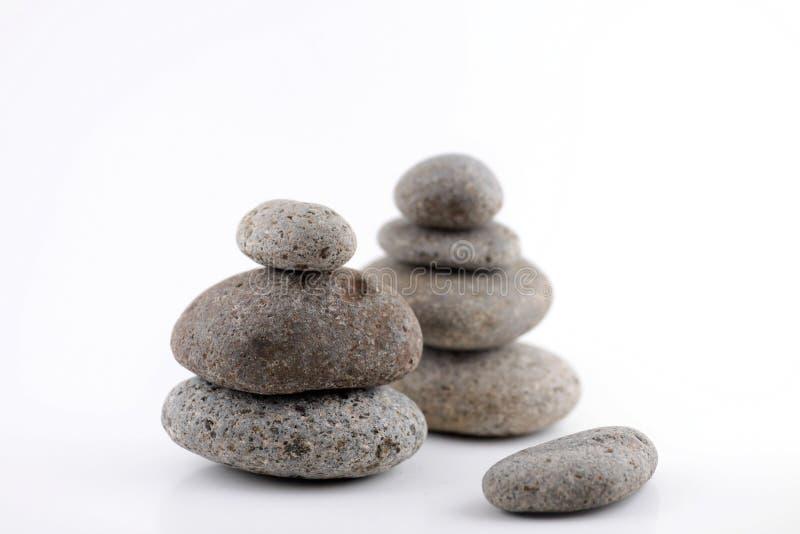 De rotsen van Zen stock foto
