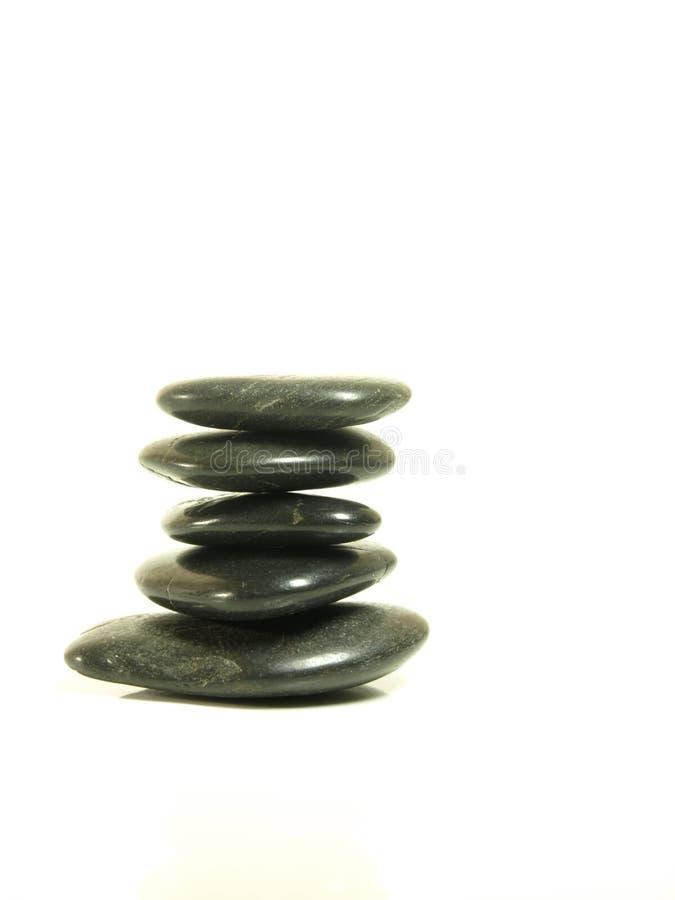 De rotsen van Zen royalty-vrije stock foto's