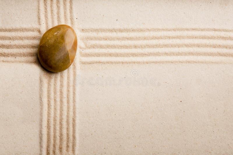 De Rotstuin van Zen royalty-vrije stock foto's
