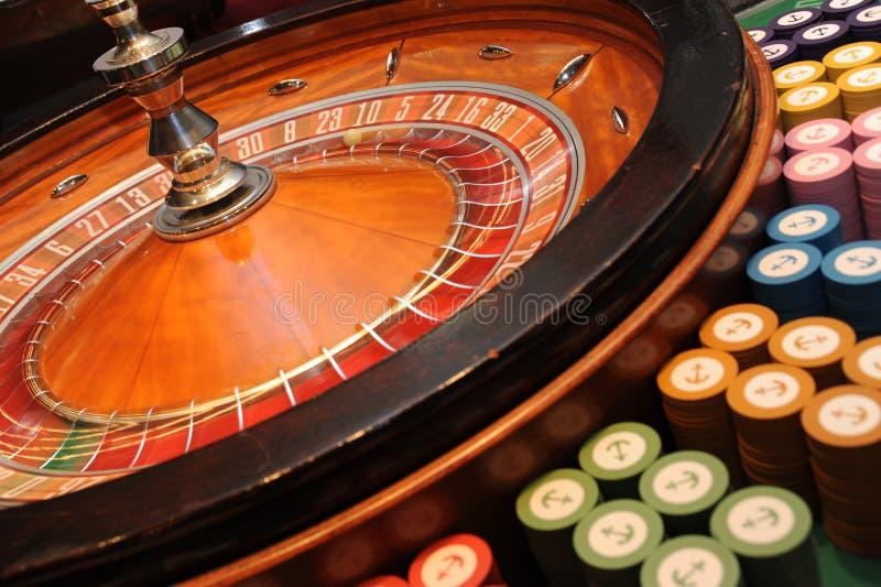 De Roulette van het casino royalty-vrije stock fotografie