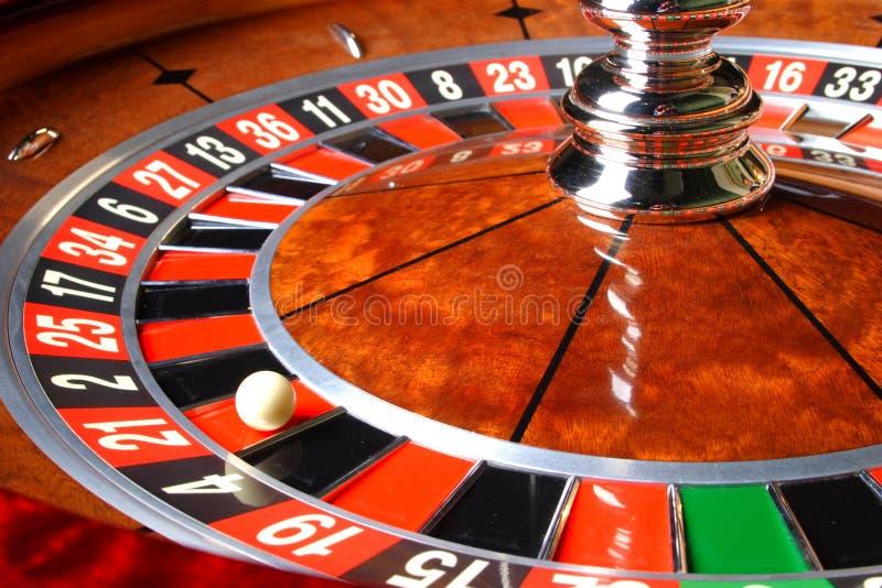 De Roulette van het casino royalty-vrije stock afbeelding