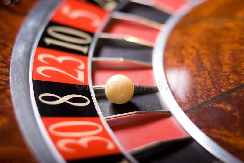 De roulette van het casino stock fotografie