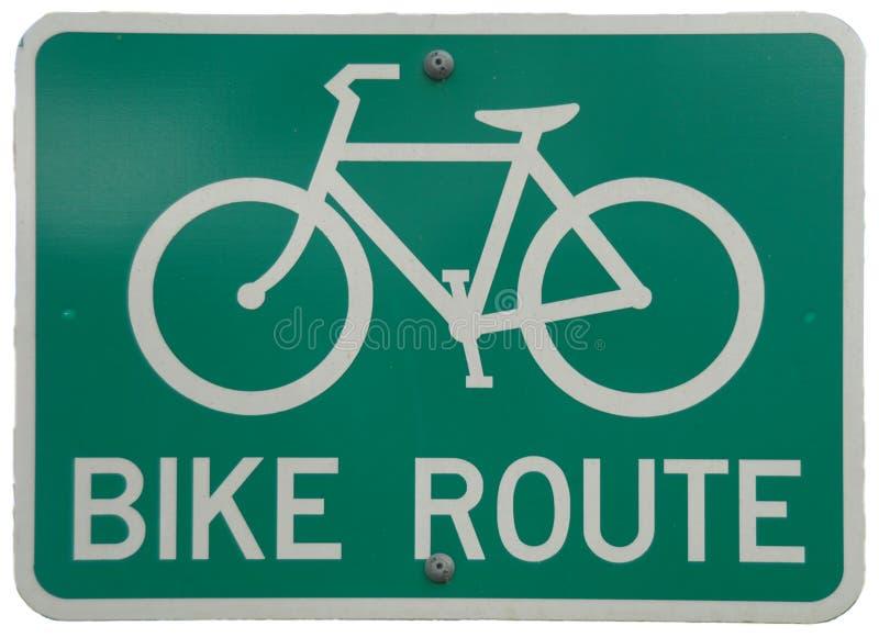 De Route van de fiets stock afbeeldingen