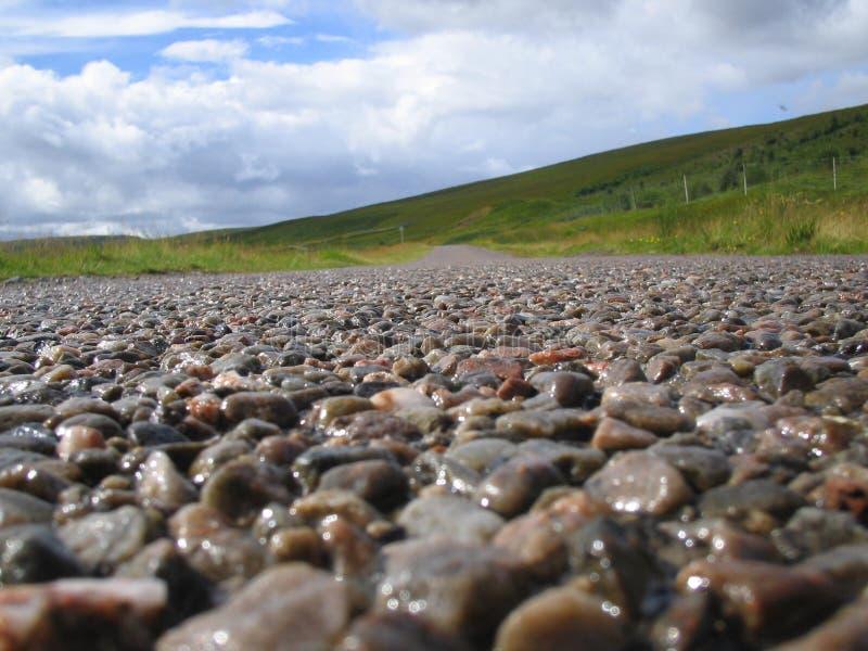 De route van Schotland royalty-vrije stock afbeelding