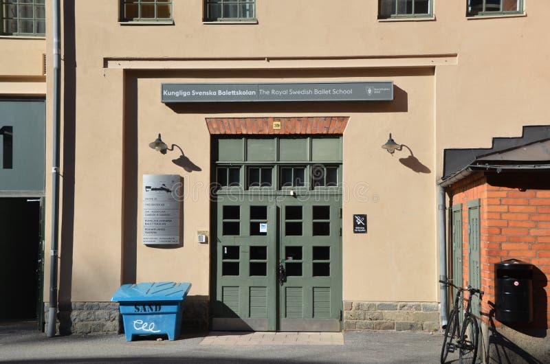 De Royal Swedish Ballet School stock fotografie
