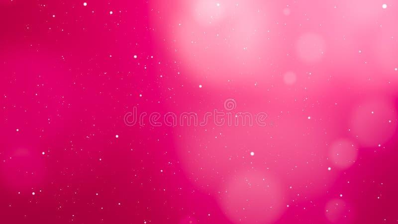 De roze abstracte achtergrond van de valentijnskaartendag stock foto's