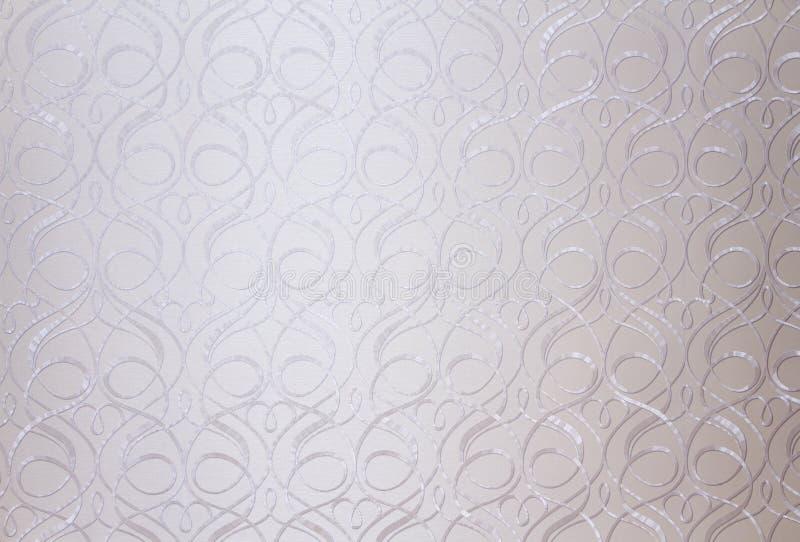 De roze achtergrond van het damast naadloze bloemenpatroon royalty-vrije stock afbeeldingen