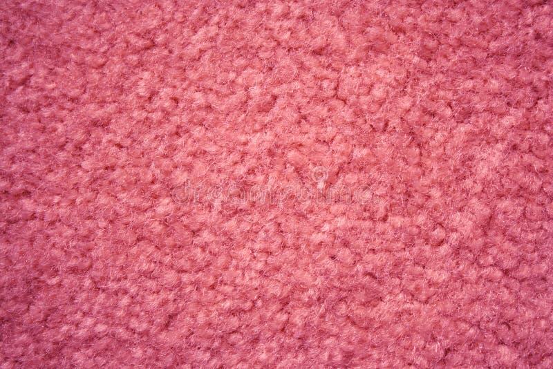 De roze Achtergrond van het Tapijt royalty-vrije stock afbeelding