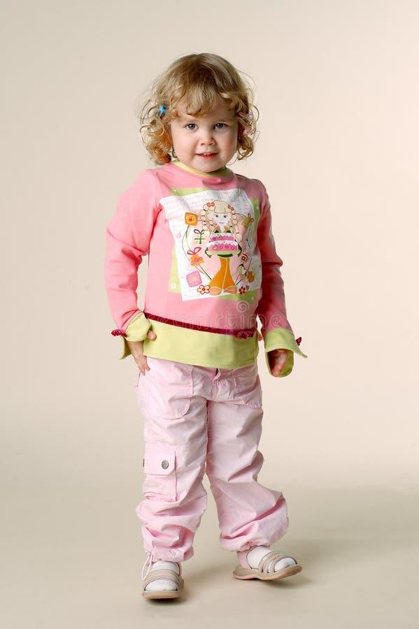De roze kinderjaren stock fotografie