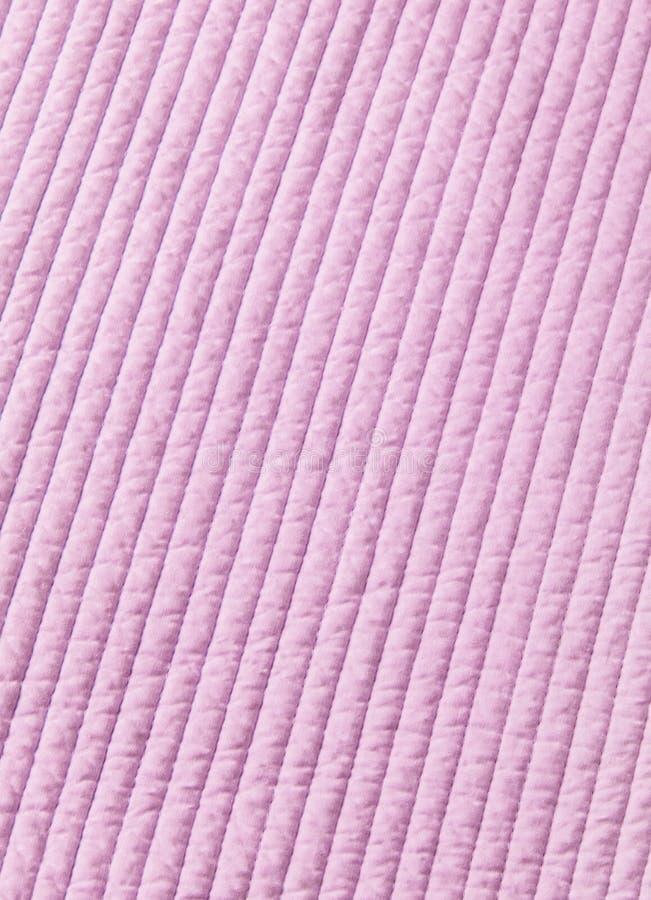 De roze van de katoenen achtergrond dekbedtextuur royalty-vrije stock fotografie