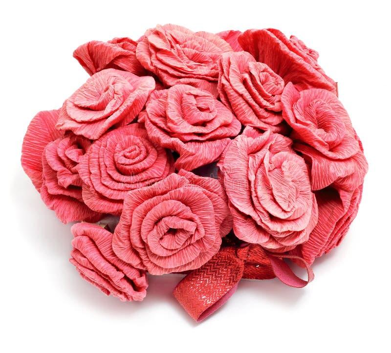 De rozen van het document stock afbeeldingen