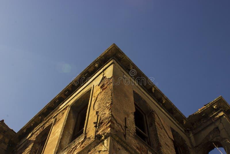 De ruïne royalty-vrije stock afbeeldingen