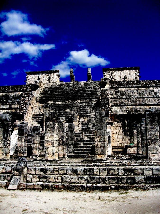 De ruïne van Itza van Chichen stock afbeeldingen