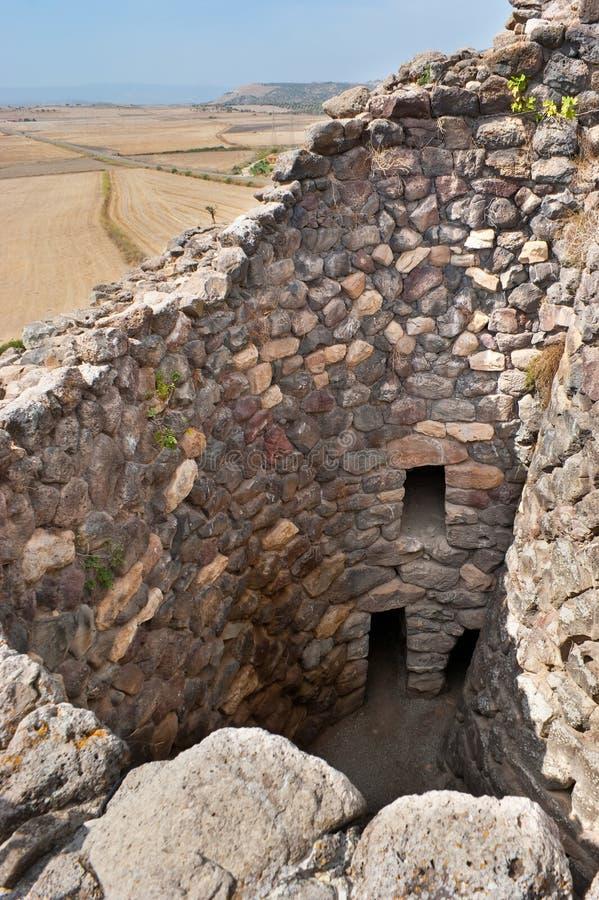 De ruïnes stock foto's