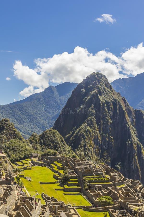 De ruïnes Cuzco Peru van Machupicchu royalty-vrije stock foto