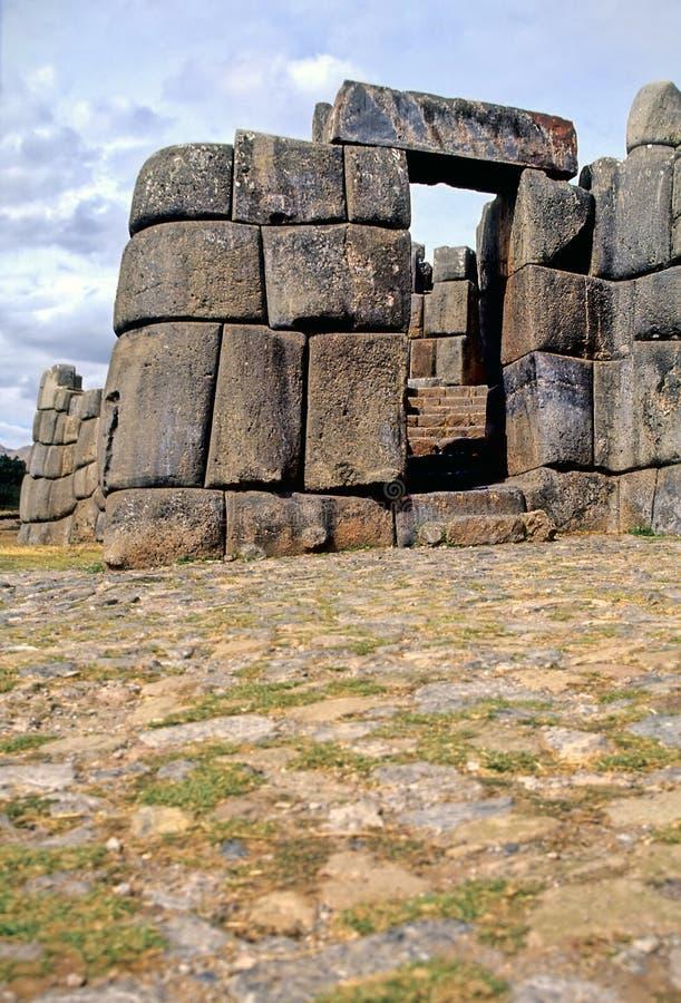 De ruïnes Peru van Incan royalty-vrije stock foto's