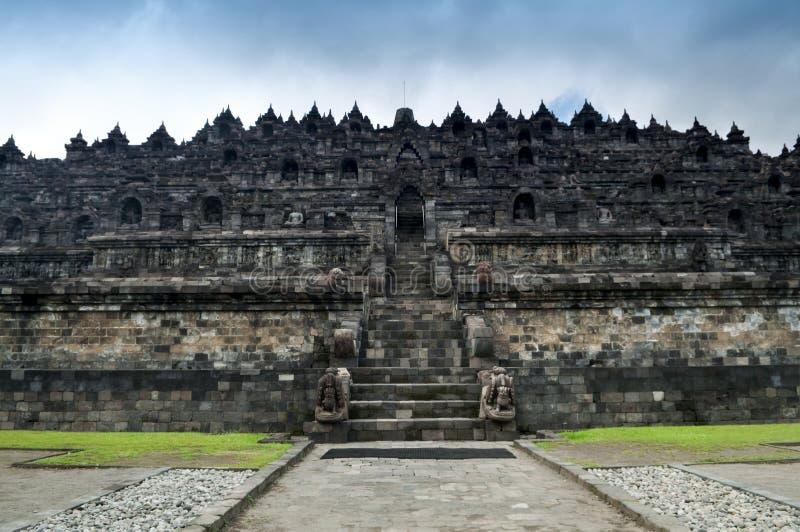 De Ruïnes van Borobudur royalty-vrije stock foto