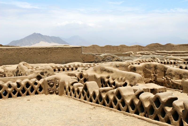 De Ruïnes van Chan van Chan royalty-vrije stock foto's