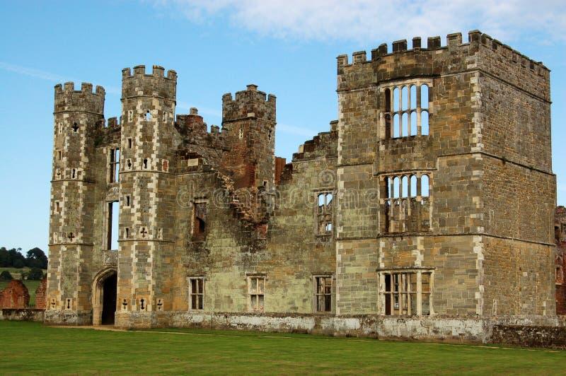 De Ruïnes van Cowdray, West-Sussex stock fotografie